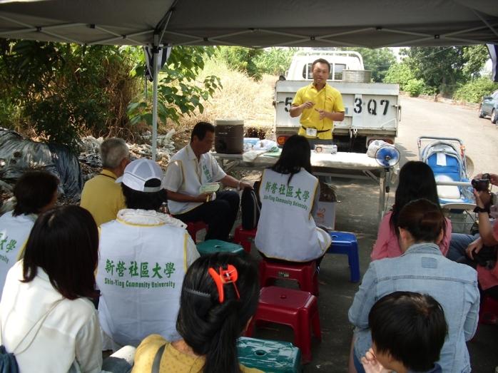 志工隊東山養蜂參訪